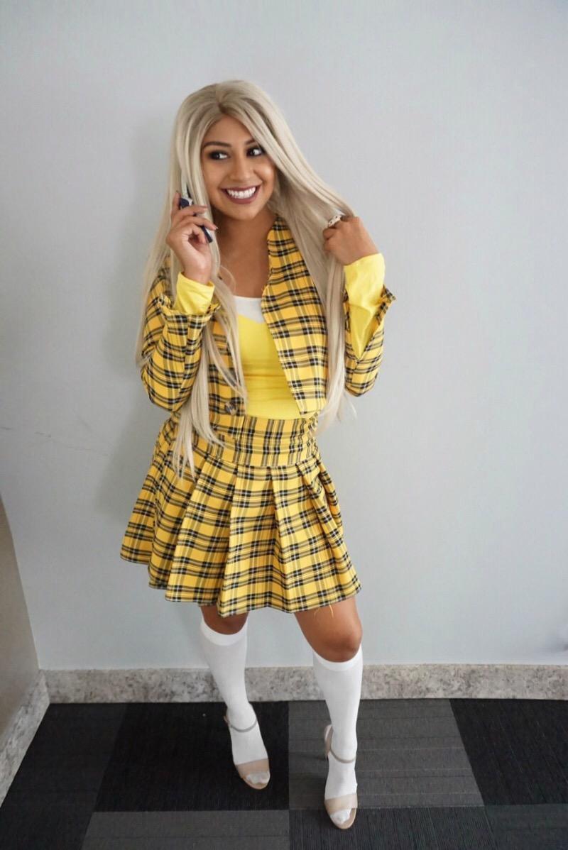 ed87e872b2c Cher Clueless Outfit DIY